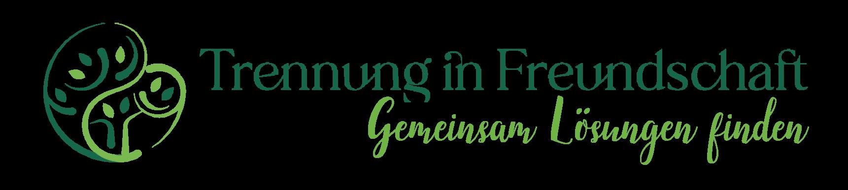 Logo in hell & dunkel grün von Trennung in Freundschaft